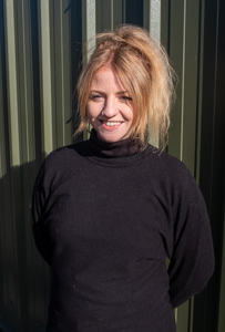 Rhona Hunter, customer sales and parts assistant of GR Autocare garage in North Berwick.