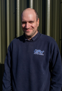 Steven Goldie, line manager of GR Autocare garage in North Berwick.